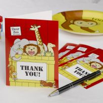 Dear Zoo Thank You Cards (10)